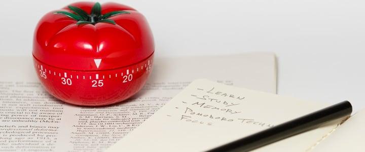 Estudia tu carrera profesional desde casa con el método pomodoro