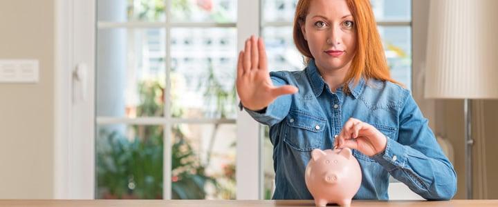 Para cuidar tus finanzas tras la cuarentena, procura no tocar tus ahorros