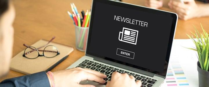 Inscríbete a newsletters para mantener tus conocimientos al día