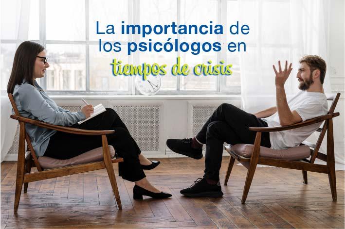La importancia de los psicólogos en tiempos de crisis
