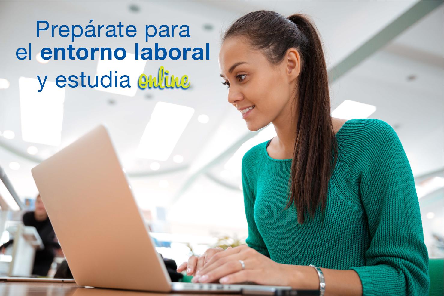 Cómo estudiar en línea te prepara para el entorno laboral