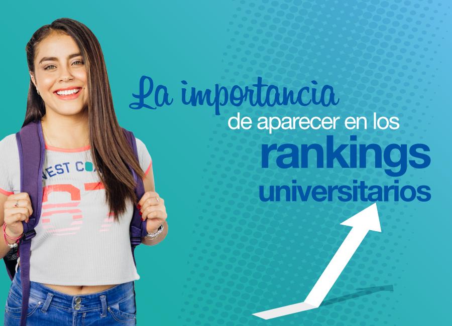El mundo de los rankings universitarios
