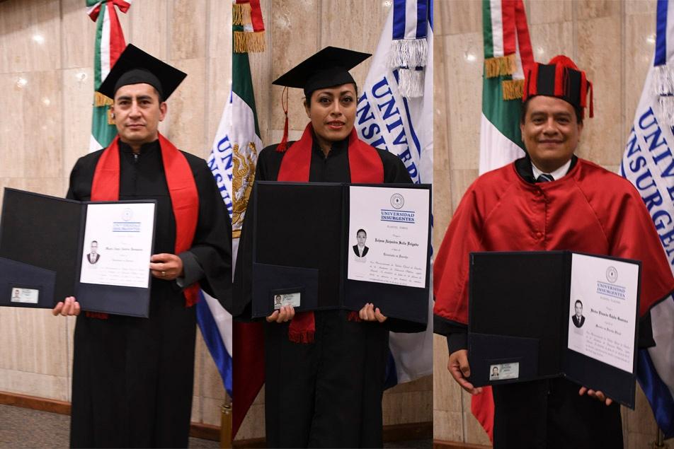 ¡Una nueva generación de la Universidad Insurgentes se titula!