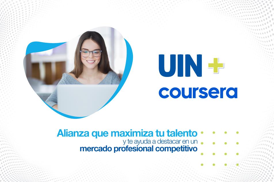 Coursera CEO Mensaje a UIN