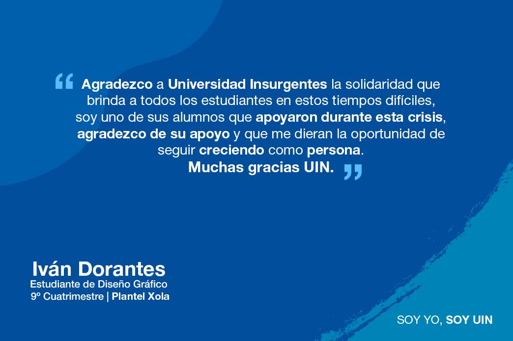 Testimonio de Iván Dorantes