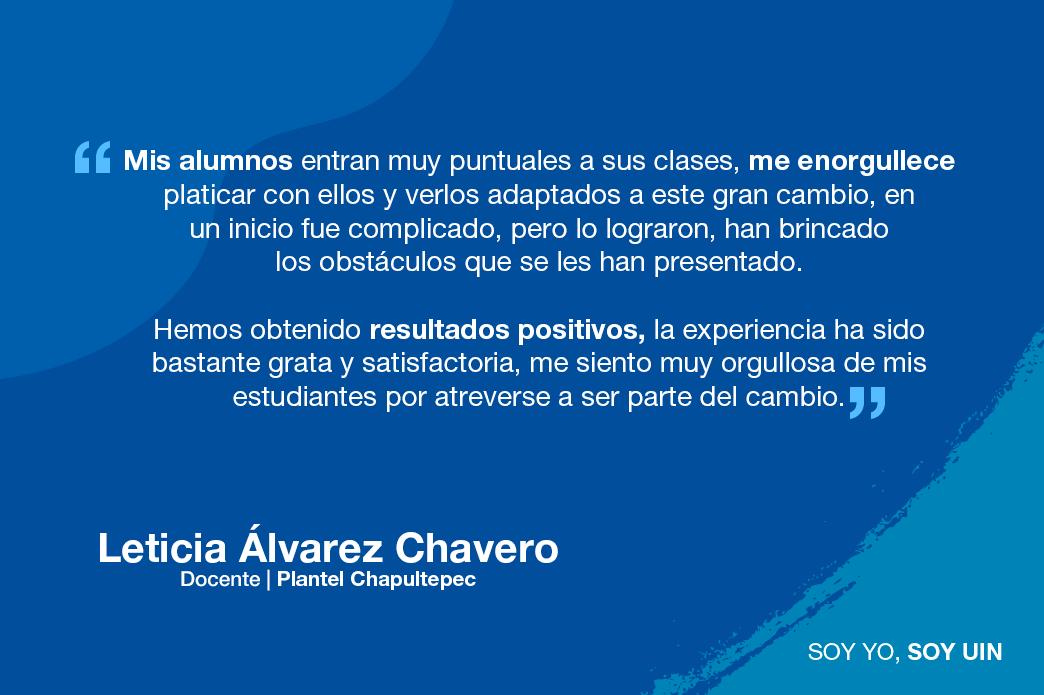 Testimonio de Leticia Álvarez